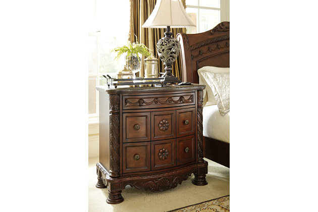 North Shore Nightstand by Ashley HomeStore, Brown