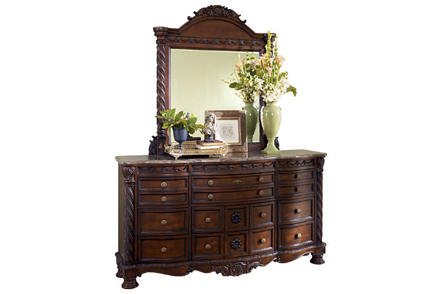 North Shore Dresser and Mirror, , large