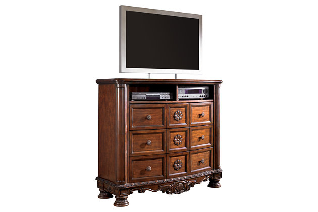 North Shore Media Chest Ashley Furniture Homestore