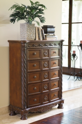 Chest Of Drawers Dark Brown Shore Product Photo 678