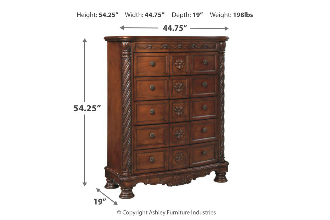 North Shore Chest Of Drawers Ashley Furniture Homestore