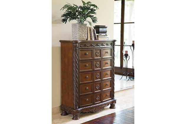 North Shore Chest of Drawers by Ashley HomeStore, Brown