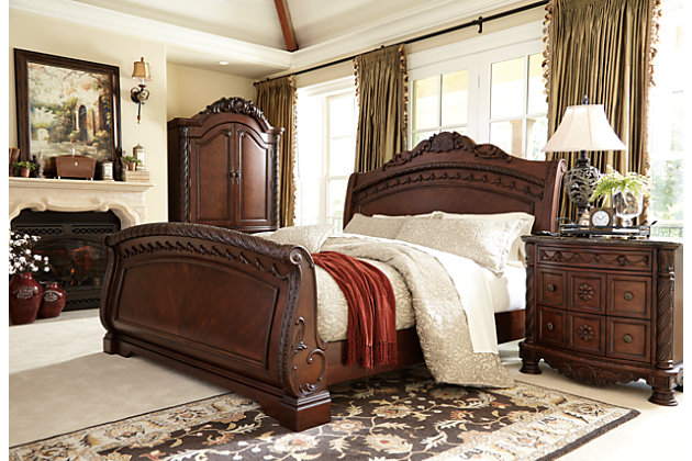 North Shore King Sleigh Bed Ashley Furniture Homestore