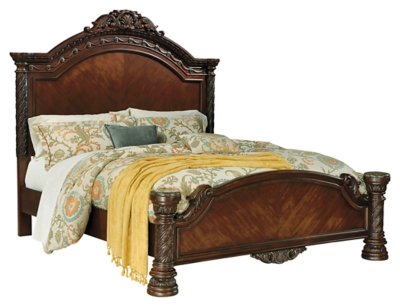 Picture of: North Shore Queen Panel Bed Ashley Furniture Homestore