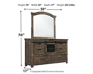 Danell Ridge Dresser and Mirror, , large