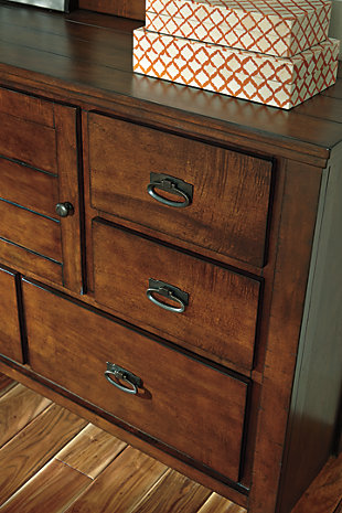 Ladiville Dresser And Mirror Ashley Furniture Homestore