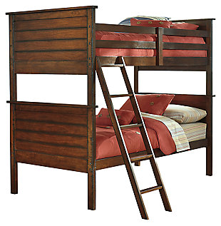 Ladiville Kids Twin over Twin Bunk Bed, , large