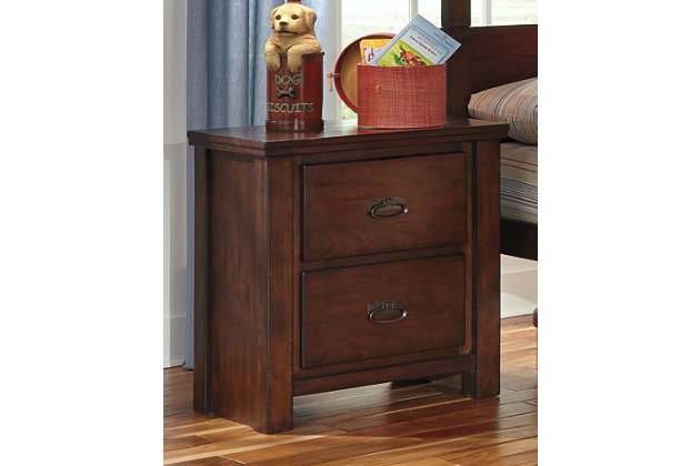 Ladiville Nightstand by Ashley HomeStore, Brown