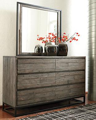 Cazentine Dresser and Mirror, , rollover