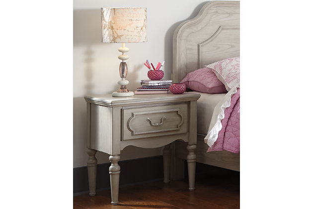 Abrielle Nightstand by Ashley HomeStore, Gray