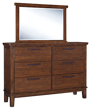 Ralene Dresser and Mirror, , large