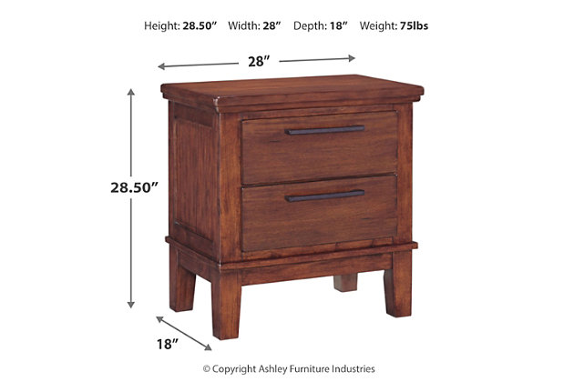 Ralene Nightstand, , large
