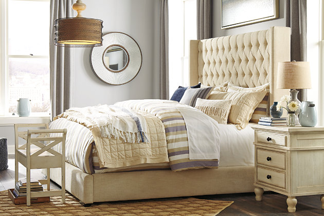 Norrister Queen Upholstered Bed Ashley Furniture Homestore