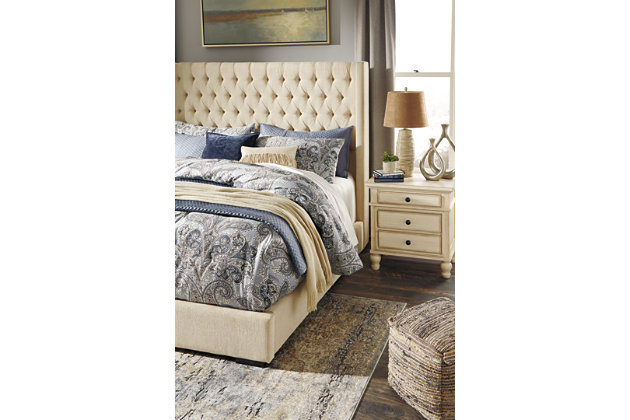 Wondrous Norrister Queen Upholstered Bed Ashley Furniture Homestore Squirreltailoven Fun Painted Chair Ideas Images Squirreltailovenorg