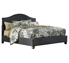 Zanbury Queen Panel Bed Ashley Furniture Home Store