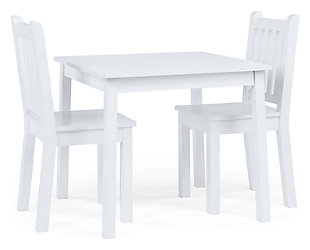 Daylight Wood Table and Two Chairs Set, , rollover