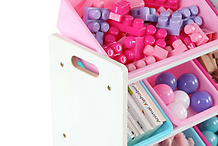 Forever Super-Sized Toy Organizer with Sixteen Plastic Bins, , large