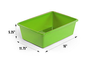 Forest Super-Sized Toy Organizer with Sixteen Plastic Bins, , large