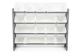 Kids Springfield Super-Sized Toy Organizer with Sixteen Plastic Bins, , large