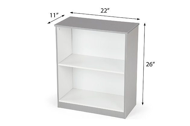 Explorer Wood Storage Bookcase, , large