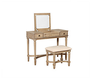 Burke Gray Wash Vanity, , large