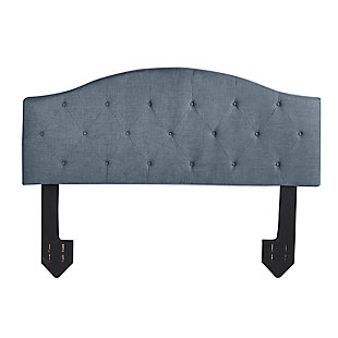 Bridget King Diamond Tufted Powered Headboard, , large