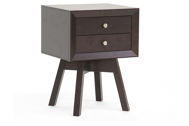 Warwick Brown Accent Table and Nightstand, , large
