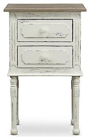 Anjou Traditional French Accent Nightstand, , large