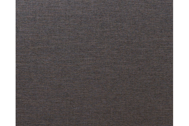 Cushioned Queen Headboard, Dark Gray, large
