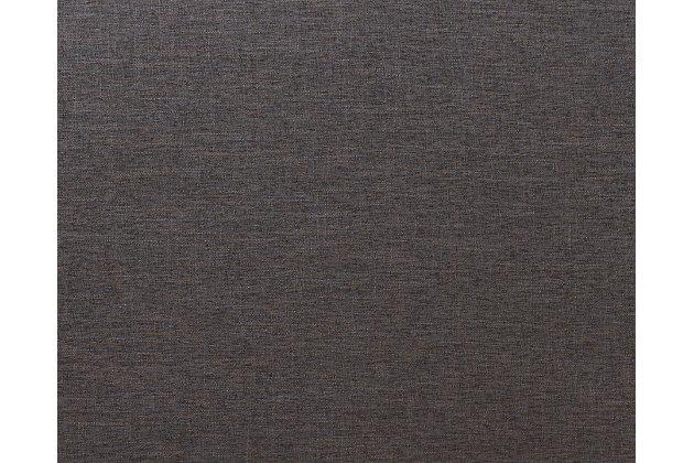 Studded Queen Headboard, Dark Gray, large