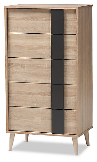 Lisen 5-Drawer Chest, , large