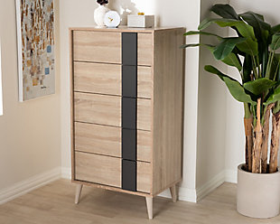 Lisen 5-Drawer Chest, , rollover
