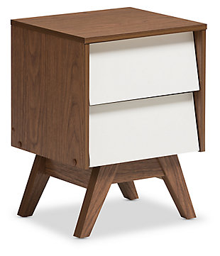 Hildon 2-Drawer Storage Nightstand, , large