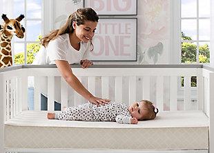 Delta Children Twinkle Stars Supreme Crib And Toddler Mattress, , rollover