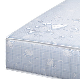 Delta Children Serta SLEEPTRUE Sweet Moon Crib and Toddler Mattress, , large