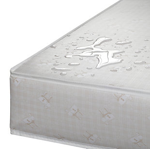 Delta Children Serta Perfect Sleeper Calm Days Crib and Toddler Mattress, , large