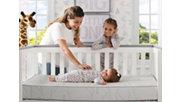 Delta Children Serta iComfort Sweet Retreat Crib and Toddler Mattress, , rollover
