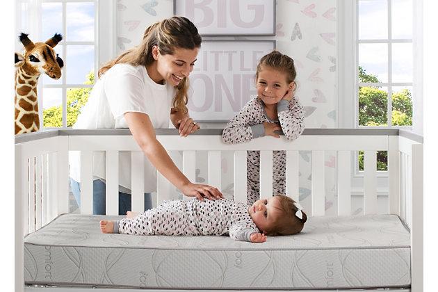 Delta Children Serta iComfort Sweet Retreat Crib and Toddler Mattress, , large