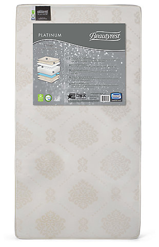 Delta Children Beautyrest Platinum 2 Stage Crib and Toddler Mattress, , large