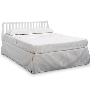 Delta Children Taylor 4-in-1 Convertible Baby Crib, White, large