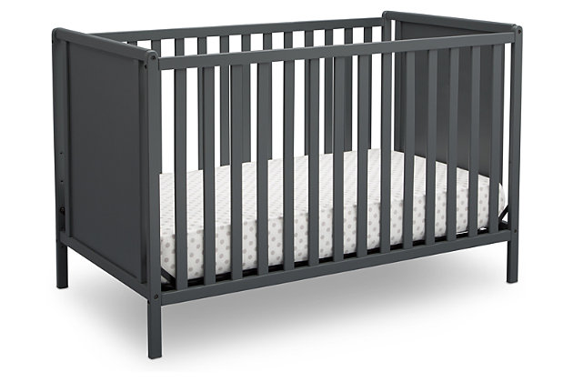 Delta Children Heartland Classic 4-in-1 Convertible Baby Crib Set, , large