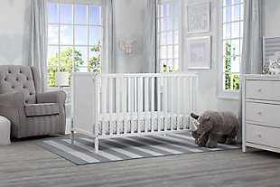 Delta Children Heartland Classic 4-in-1 Convertible Baby Crib, , rollover