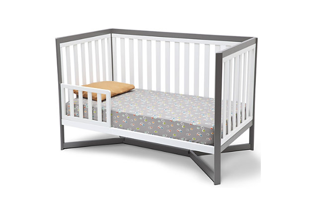 Delta Children Tribeca 4-in-1 Convertible Baby Crib Set, , large
