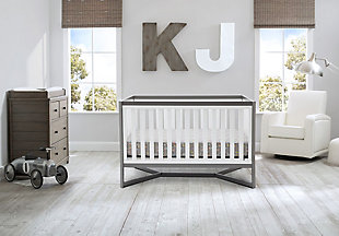 Delta Children Tribeca 4-in-1 Convertible Baby Crib Set, , rollover