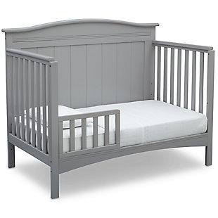 Delta Children Bennett 4-in-1 Convertible Crib, Gray, large