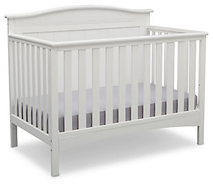 Delta Children Bennett 4-in-1 Convertible Crib, , large