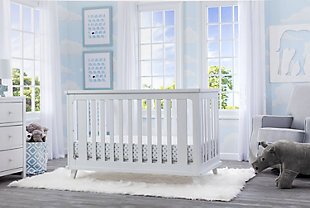 Delta Children Ava 4-in-1 Convertible Crib Set
