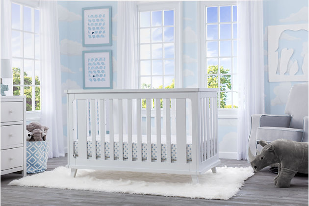 Delta Children Ava 3-in-1 Convertible Crib, , large