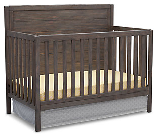 Delta Children Cambridge 4-in-1 Convertible Crib Set, , large