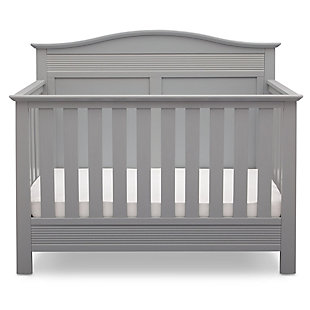 Delta Children Serta Barrett 4-in-1 Convertible Crib, Gray, large